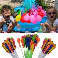 Vodní bomby, balónky s automatickým plněním (sada 111 kusů)