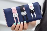 Peněženka LADY-CAT tmavě modrá