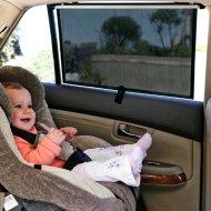 Sluneční clona do auta - stínící roleta 2 kusy
