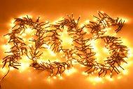 LED světýlka do exteriéru a interiéru (3m) 384 diod - Extra teplá bílá