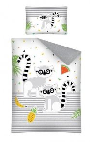 Povlečení do postýlky Lemur 100/135, 40/60