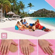 Plážová podložka - Sand Free - XL růžová