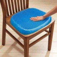 Gélový podsedák pre zdravé sedenie s protišmykovým poťahom