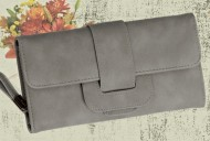 Dámská peněženka LUXURY šedá