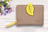 Dámská peněženka LEAF mini - žlutá