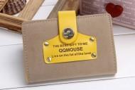 Pouzdro na karty Mouse - žlutá