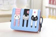Peněženka LADY-CAT mini modrá