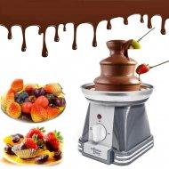 Čokoládová fontána na čokoládové fondue