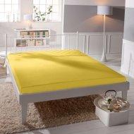Jersey prostěradlo Premium Bed - Žluté