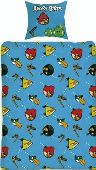 Povlečení Angry Birds Slingshot 140/200 + 70/80