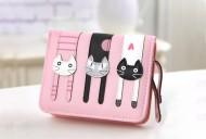 Peněženka LADY-CAT mini růžová