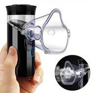 Prenosný ultrazvukový Inhalátor / Nebulizátor - čierny