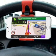 Držák telefonu a navigace na volant
