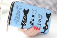 Peněženka CATS modrá