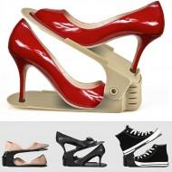 Nastaviteľný organizér obuvi