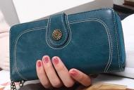 Valentino - Modrá dámská peněženka
