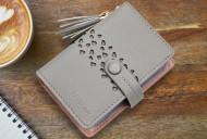 Pouzdro na karty CANDY - šedá