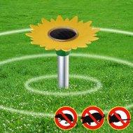 Solární odpuzovač krtků a hrabošů