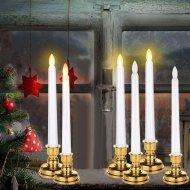 Realistická LED sviečka (29x2cm) - Set 2ks