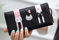 Peněženka LADY-CAT černá