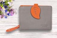 Dámská peněženka LEAF mini - oranžová