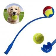 Aportovač loptičiek pre psov + loptička
