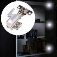 Automatické LED osvetlenie do skrine + batérie