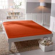 Jersey prostěradlo Premium Bed - Oranžové