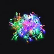 Vánoční osvětlení - 20LED 2,5m s napájením na 2x AA baterie - barevná