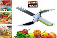 Multifunkční kuchyňský kráječ Smart Cutter 6v1 - zelený