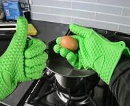 Silikónová kuchynská rukavice - Teplovzdorná