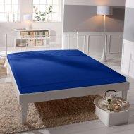 Jersey prostěradlo Premium Bed lycra DeLuxe - Tmavě modré