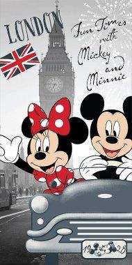 Osuška Mickey a Minnie v Londýně 70/140