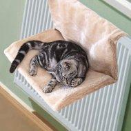 Závěsný pelíšek na topení pro kočky De Luxe