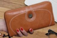 Nancy - Hnědá dámská peněženka