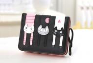 Peněženka LADY-CAT mini černá