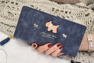 Peněženka DOG tmavě modrá