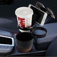 Multifunkční držák nápojů do auta