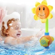 Dětská sprcha do vany - slunečnice
