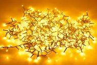 LED světýlka do exteriéru a interiéru (8m) 400 diod - Extra teplá bílá