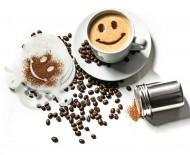 Šablony na kávu - Sada 16ks + zdobící sítko