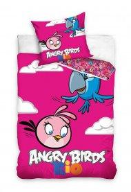 Povlečení Angry Birds Rio Stella a Perla 140/200 + 70/80
