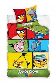 Povlečení Angry Birds Rio kostky 140/200 + 70/80