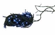 Vánoční osvětlení - 50LED 5+1,5m bílá