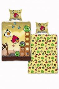 Povlečení Angry Birds Bouře 140/200 + 70/80