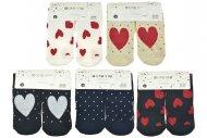 Dámské termo ponožky s protiskluzovou podrážkou AURAVIA - 5 párů, mix motivů, velikost 35-38