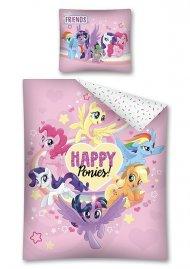 DETEXPOL Povlečení My Little Pony Happy Bavlna, 140/200, 70/80 cm
