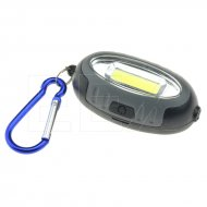 Klíčenka s LED a COB světlem - 5822 - Šedá