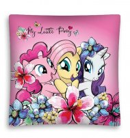 DETEXPOL Povlak na polštářek My Little Pony Friendship micro Polyester, 40/40 cm