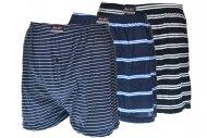 Pánské bavlněné trenýrky NAIGE - 1 ks, mix barev, velikost XL (38-40)